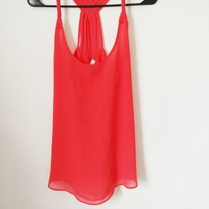 E hanger M orange blouse large